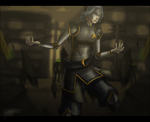 Lin Beifong - To Protect My Town by tristonamorre