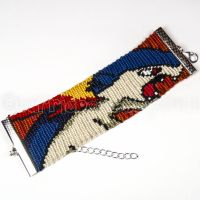 Typhlosion 1.5 inch Friendship Bracelet by CarrieBea