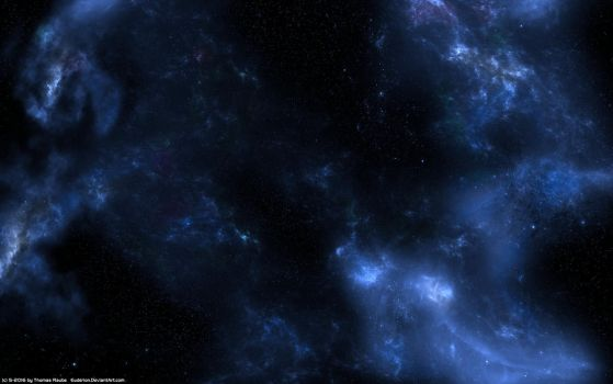 Simple Starfield Nebula by Euderion