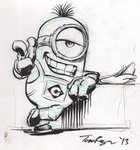 Sassy Minion by mistermuck