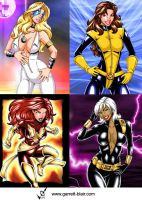 Marvel Girls 5 by gb2k by Mythical-Mommy