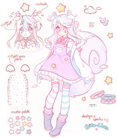 $10 [CLOSED] Cloudiny - ADOPT AUCTION by Nita--Chan