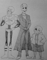 Two talls and a smol  by ReereeandWally101