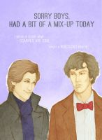 Wholock Mix-up. by ynaninja