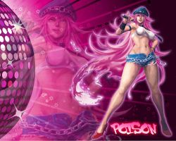 Poison Wallpaper by Edaine