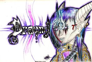Dreanei Femal ll handcolored by theWalkingDutchman94
