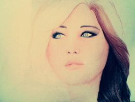 Jennifer Lawrence (In progress) by PearlJackson