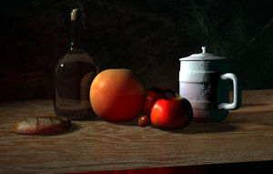 Still Life - 3D by InTerraFatali