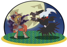 PKMN Crossing Halloween by Tee-chew