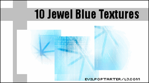 Jewel Blue Textures by VampyreGoddess