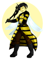 Bee Gaurd Com 2/2 by GingerQuin