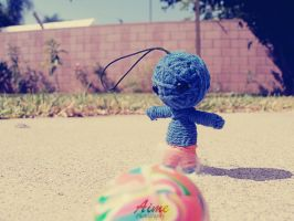 Richie playing ball by thehillywoodshow