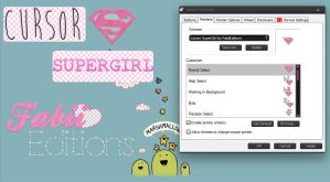Cursors Supergirl by fabii27