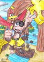 Banjo-Kazooie Tribute by Ian-the-Hedgehog