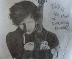Ed Sheeran by Amaya8