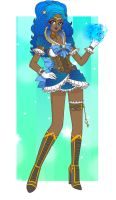 Steampunk Sailor Aquarius - Marina by Sailor-Serenity