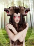 Bear Maiden by RavenAngelov