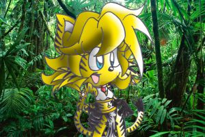Jessica the Tiger at the jungle by dudiho