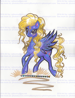 MLP Pony Lily Blossom Permed Scanned by alaer
