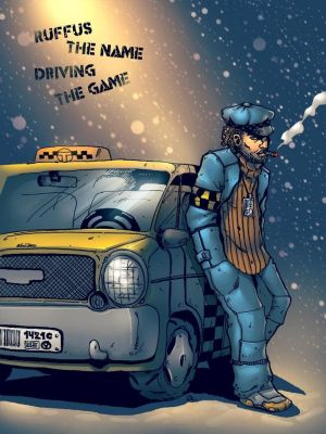Driver Ruffus Colored by Ape-vice-versa