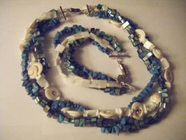 Shell and Turquoise Set by xXLetaXx