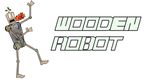 Wooden Robot made of wood by Headsmellspuppys