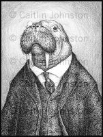 Sir Wallace the Walrus by DrummerGirl375