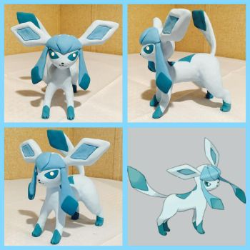 Glaceon by PomChiPrincess