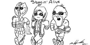 Staying Alive by LucyoftheSky