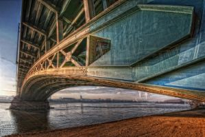 Under the bridge by GeorgeGoodnight