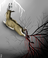 Needles above the prey by Kallonate