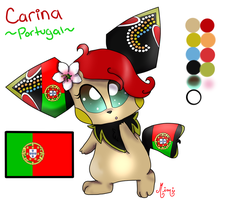 Carina the Portuguese World-chu by MimiTheFox