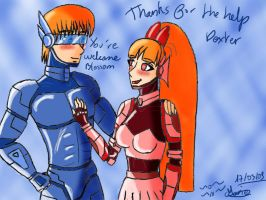Dexter and Blossom : armour by PyodeKantra
