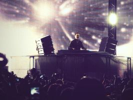 Tiesto's show in Bolivia v3 by zentenophotography