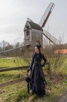 Stock - Victorian Lady 4 gothic by S-T-A-R-gazer