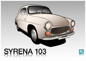 Syrena 103 by 1---ROB---1
