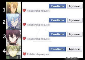 Amnesia - Facebook Relationship Request by tsunderemayu