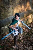 Levi Ackerman by AerithStrife90