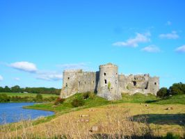 Carew Castle. by rainbows-and-stars