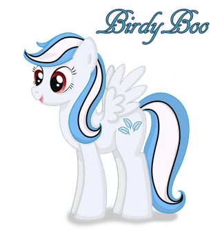 Birdy Boo by bunnybiscuit