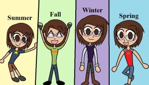 4 seasons 4 outfits by paego