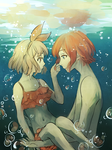 [OW] It's different under water by tshuki