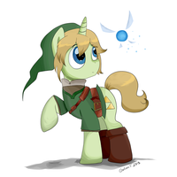 My Little Link by Wingscanspeak