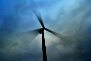 Wind turbine (color) by chivt800