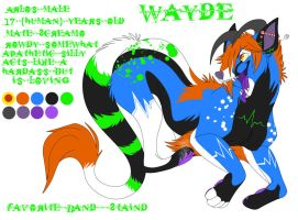 Wayde reference by abracadavera