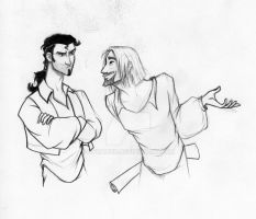 Miguel and Tulio by Nyranor