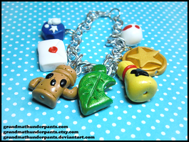 Animal Crossing Bracelet by GrandmaThunderpants