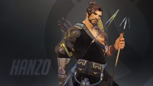 Overwatch Wallpaper: Hanzo by haikai13