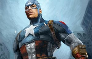 captain America by ArtistHopeful