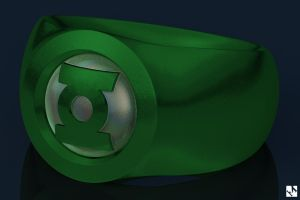 Green Lantern by JeremyMallin